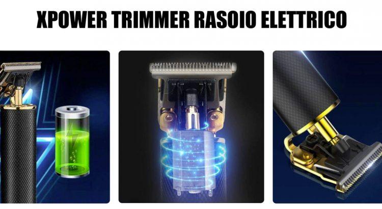 xpower trimmer rasoio elettrico professionale