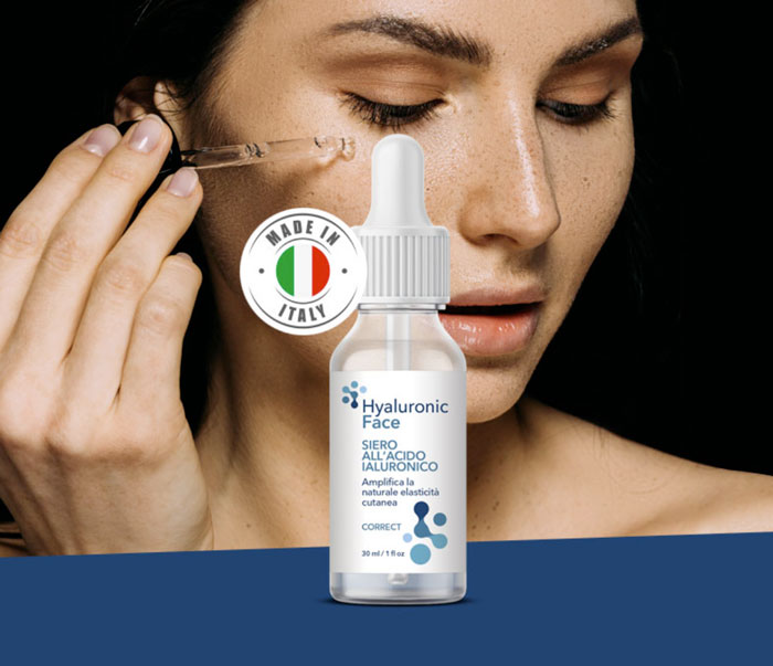 hyaluronic face siero viso acido ialuronico